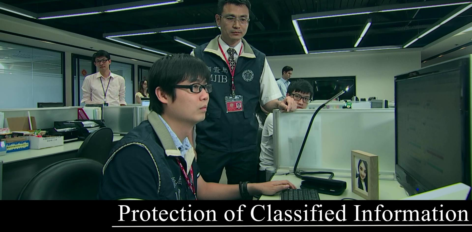 Protection of Classified Information